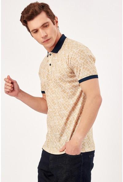 Manche Hardal Erkek Polo Yaka T-Shirt Me20S234970
