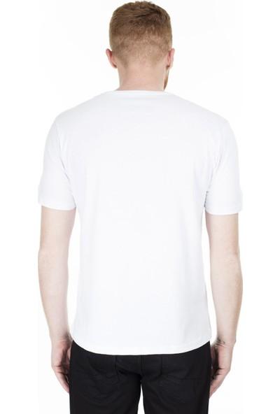 Buratti Baskılı Bisiklet Yaka Erkek T Shirt 0438244