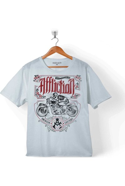 Kendim Seçtim Death Rıder Afflıctıon Ölüm Sürücüsü Motosiklet Çocuk T-Shirt