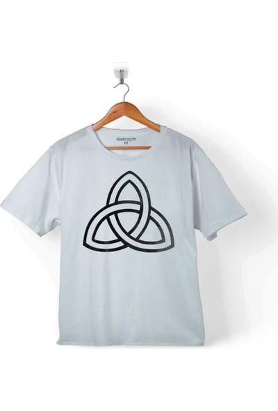 Kendim Seçtim Trıquetra Trıangle Yaşam Ölüm Yeniden Başlangıç Çocuk T-Shirt