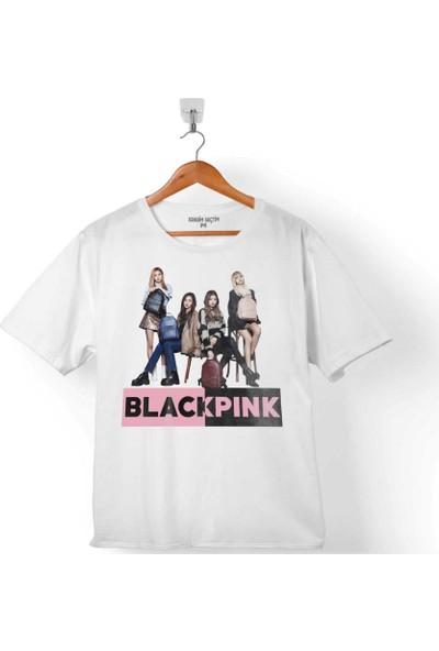 Kendim Seçtim Black Pınk Blackpınk Kaset Müzik Güney Kore 5 Çocuk T-Shirt