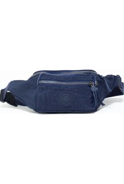Çanta Sepetim Kullanışlı Klinkır Bel Çantası 4 Farklı Cep