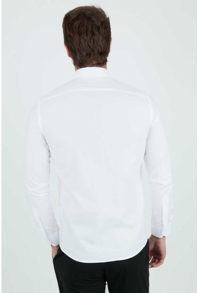 Centone Slim Fit Uzun Kol Gömlek 20-0158