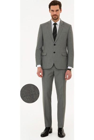 Pierre Cardin Gri Slim Fit Takım Elbise 50224042-VR024