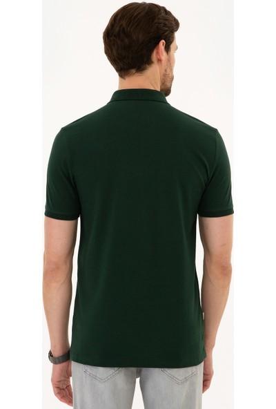 Pierre Cardin Erkek T-Shirt Basic 50225515-Vr079