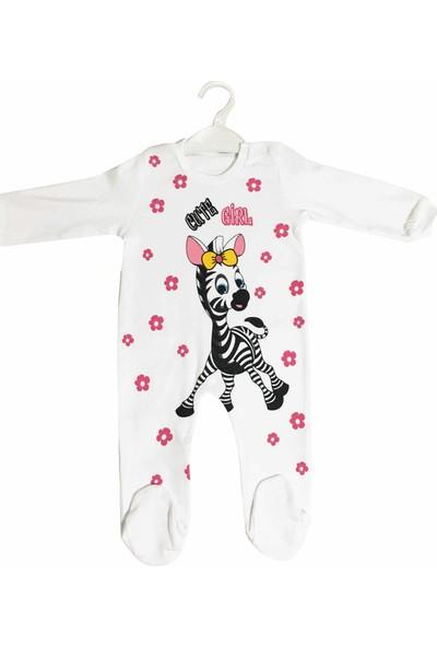 Oksima Baby Sevimli Zürafa Kız Tulum