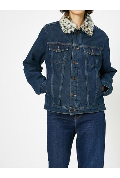 Koton Kadın Jean Ceket