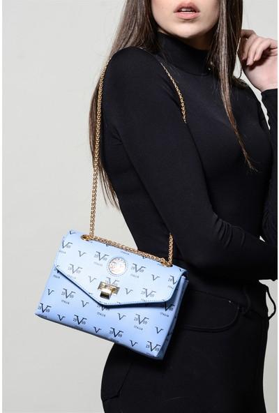 19V69 Italia 5555 Mavi Kadın Çapraz Çanta