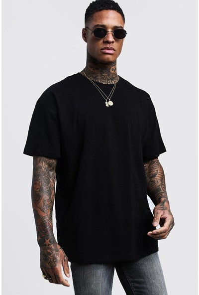 Oksit Crash Erkek Oversize T-Shirt