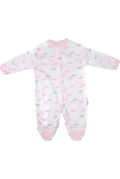 Mıdırık Kız Bebek Pijama Günlük Tulum