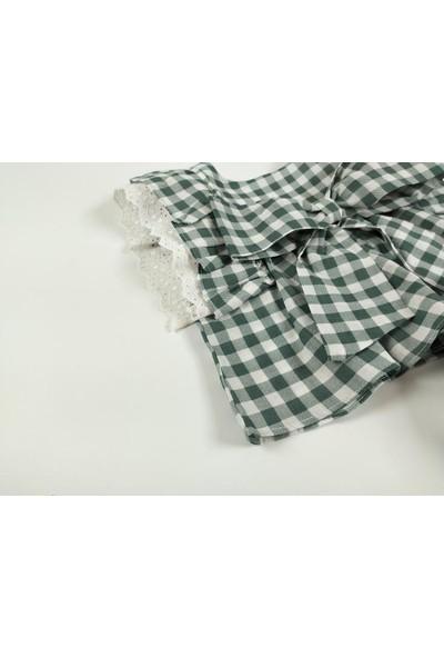 Bbx Baby Girl Green Pitikare Dress