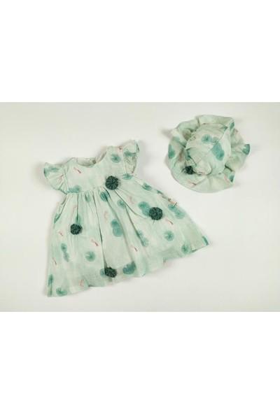 Bbx Baby Girl Green Flowers