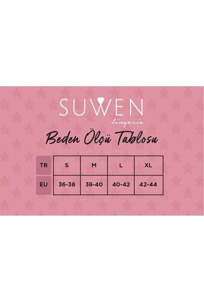 Suwen Summer Flower Pijama Takımı - Ekru/pembe XL