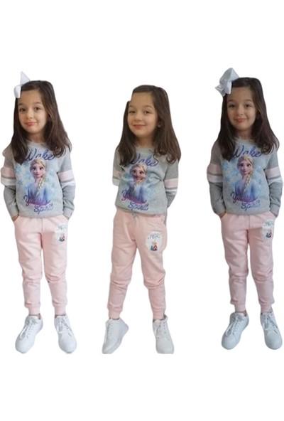 Ekbebek Kız Çocuk Frozen Elsa Eşofman Takımı