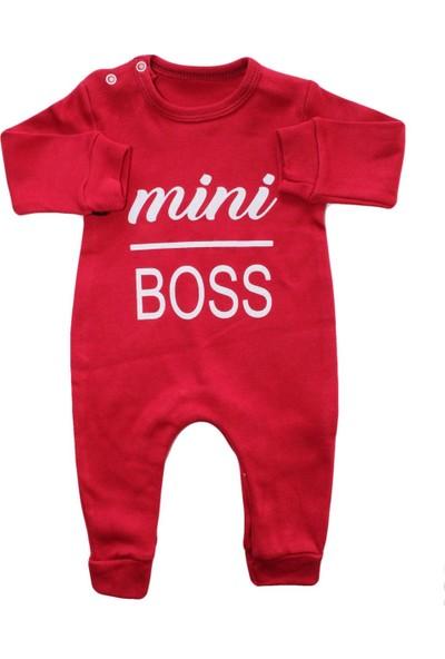 Bebek Odam Mini Boss (Minik Patron) Bebek Tulumu