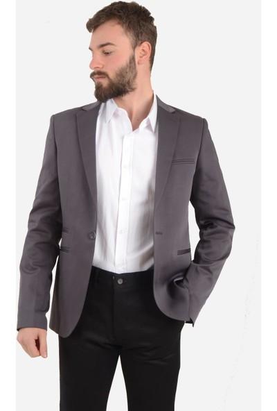 Luppo Club Blazer Gri Erkek Ceket Hisar