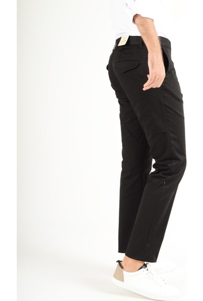 Luppo Club Chino Gabardin Siyah Erkek Pantolon