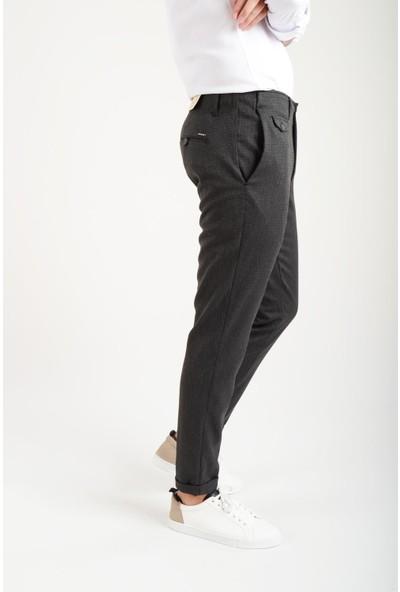 Luppo Club Duble Paça Siyah Erkek Pantolon Taksim