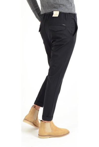 Luppo Club Gizli Dikiş Pilisiz Lacivert Erkek Pantolon Haliç