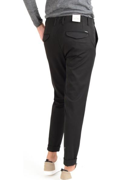 Luppo Club Gizli Dikiş Pilisiz Siyah Erkek Pantolon Haliç