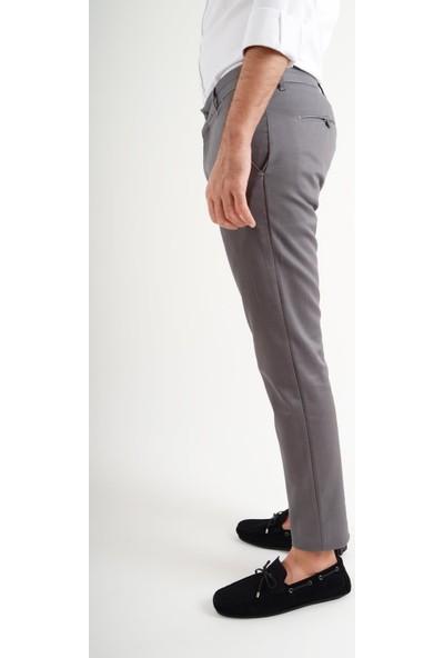 Luppo Club Günlük Kumaş Gri Erkek Pantolon Salacak