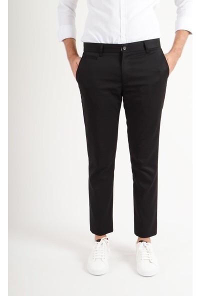 Luppo Club Günlük Kumaş Siyah Erkek Pantolon Salacak