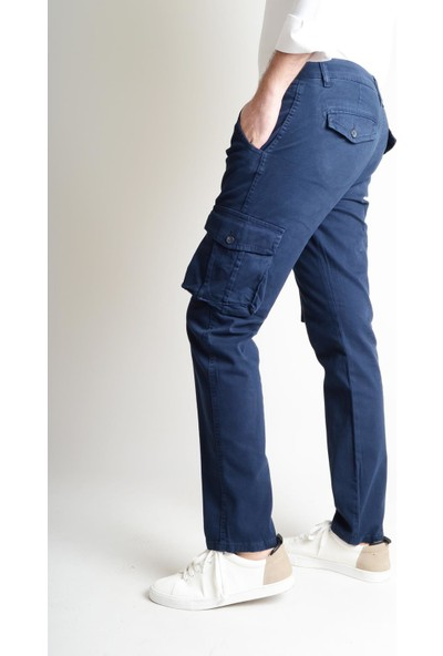 Luppo Club Kargo Lacivert Erkek Pantolon