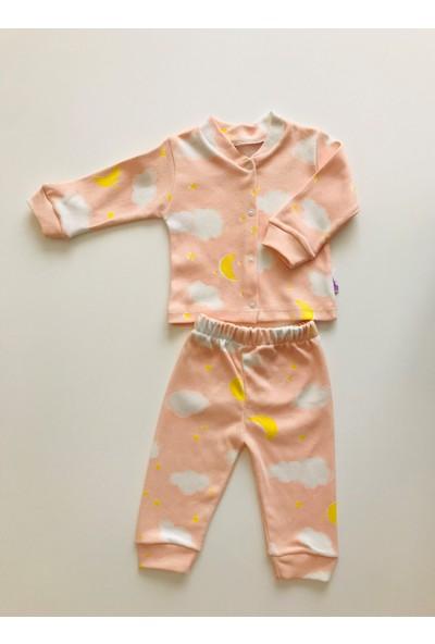 Baby West Moon Cloud Somon Pijama Takımı