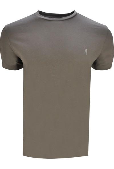All Saints Erkek Bisiklet Yaka T-Shirt 003424