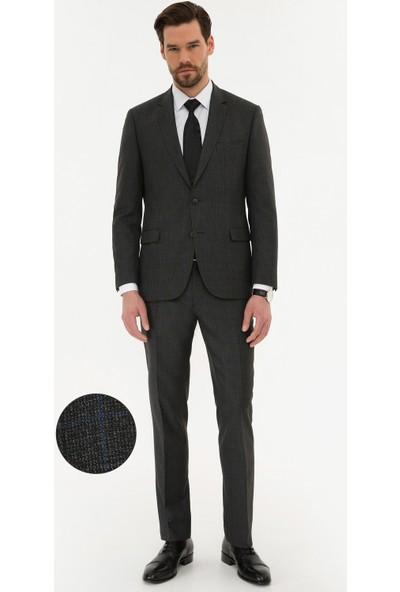 Pierre Cardin Füme Slim Fit Takım Elbise 50225973-VR058