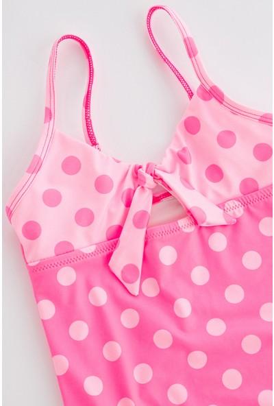 Penti Açık Pembe Kız Çocuk Candy Dots Mayo