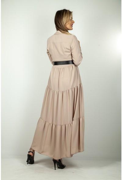 Ardanewline Kadın Bej Elbise 0807535.55
