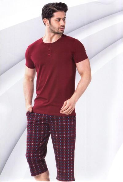 Aydoğan Erkek Pijama Kapri Takım
