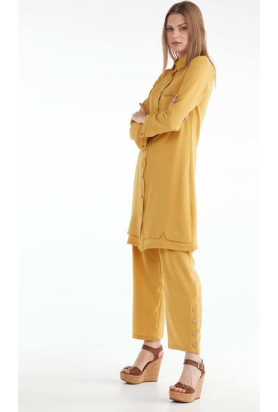 Sementa Kadın Ikili Takım - Sarı