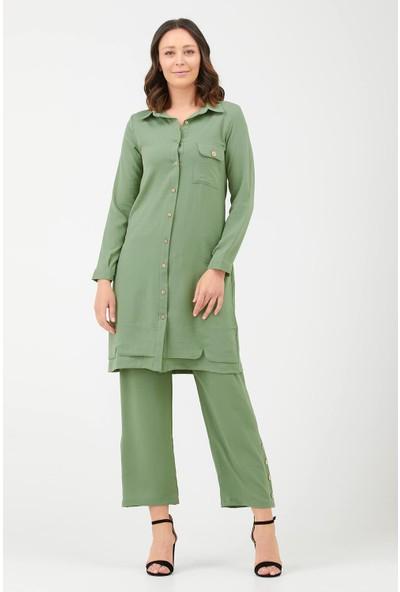 Sementa Kadın Ikili Takım - Yeşil