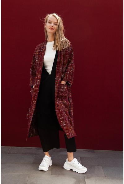 Akel Kadın Renkli Kimono