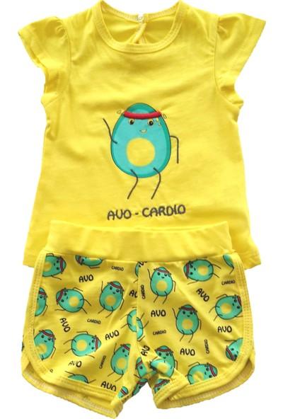 Piero Kids Kız Bebek İkili Takım Şortlu Avo Cardio Alt Üst Takım