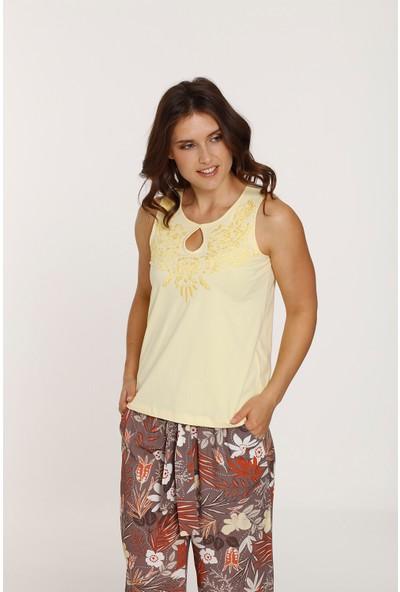 Top Secret Kadın Nakışlı T-Shirt