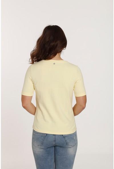 Top Secret Top Secret Desenli T-Shirt