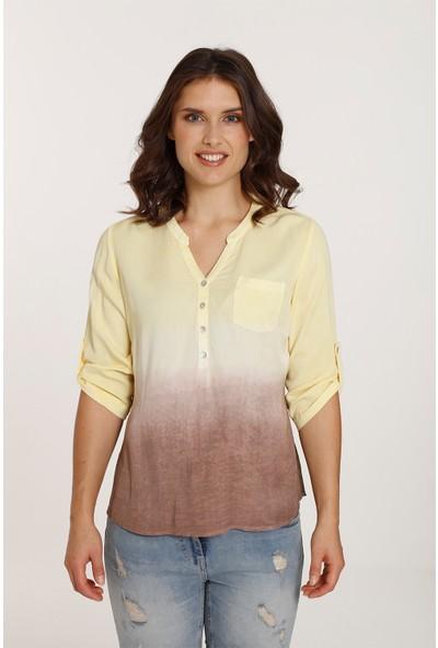 Top Secret Kadın Batikli Gömlek