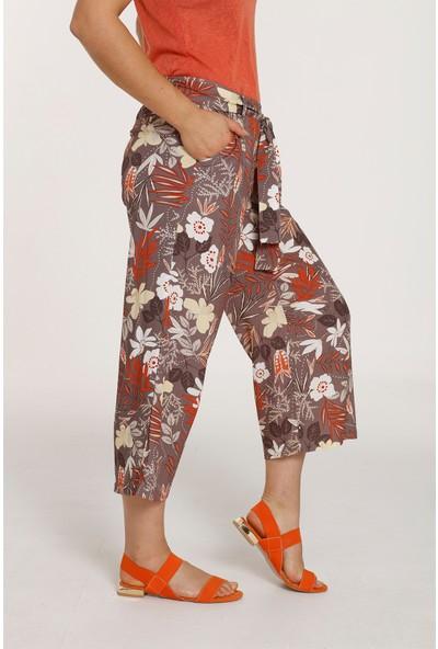 Top Secret Kadın Çiçek Desenli Pantolon