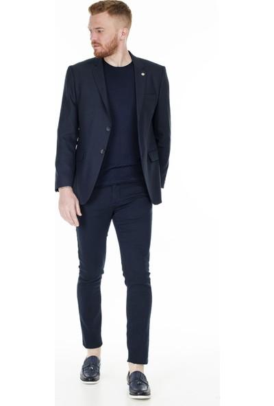 Frappoli Slim Fit 6 Drop Tek Yırtmaçlı Ceket Erkek Ceket 2161017