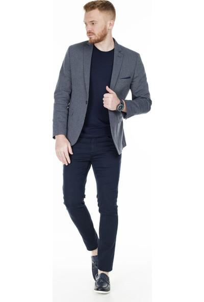 Frappoli Slim Fit 6 Drop Tek Yırtmaçlı Ceket Erkek Ceket 2163281