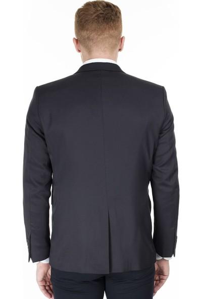 Frappoli Slim Fit 6 Drop Tek Yırtmaçlı Ceket Erkek Ceket 2163324