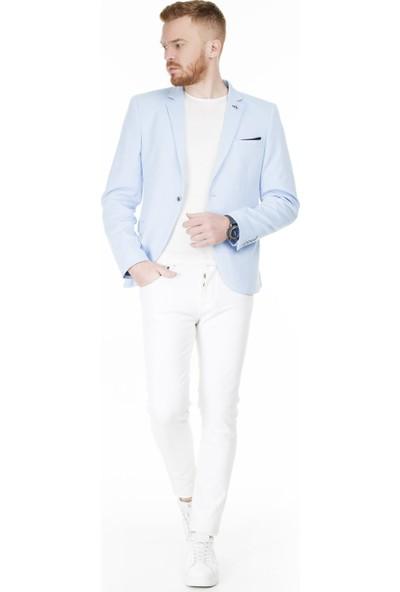 Frappoli Slim Fit 6 Drop Tek Yırtmaçlı Ceket Erkek Ceket 2163329