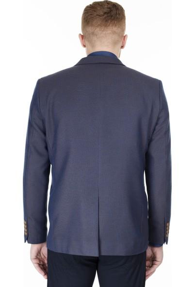 Frappoli Slim Fit 6 Drop Tek Yırtmaçlı Ceket Erkek Ceket 2163417