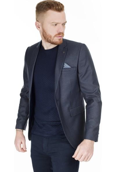 Frappoli Slim Fit 6 Drop Tek Yırtmaçlı Ceket Erkek Ceket 2163516