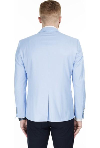 Frappoli Slim Fit 6 Drop Tek Yırtmaçlı Ceket Erkek Ceket 2163539