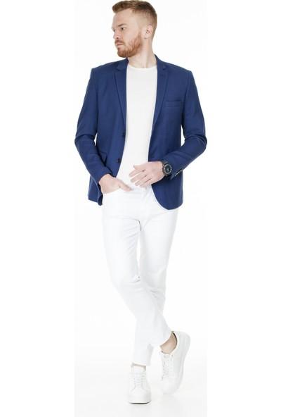 Frappoli Slim Fit 6 Drop Tek Yırtmaçlı Ceket Erkek Ceket 2168131