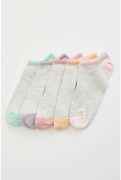 Defacto Kadın 5'Li Kısa Çorap